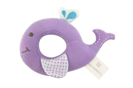 Marcus & Marcus Organic Rattle Willo the Whale
