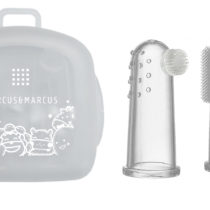 Marcus & Marcus Finger Toothbrush & Gum Massager Set