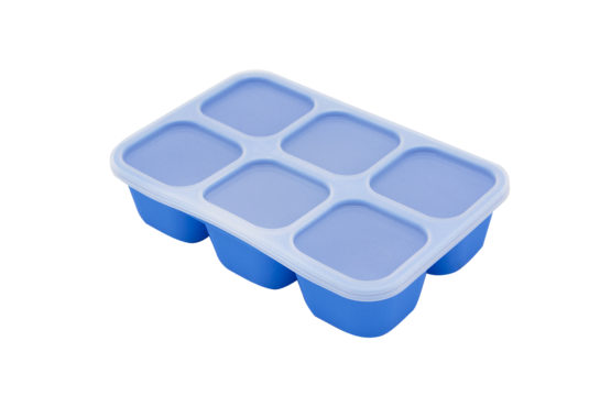 Marcus & Marcus Food cube tray – Blue  (Lucas)