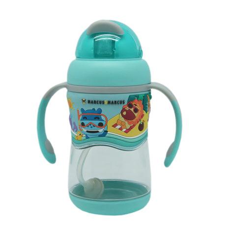 Marcus & Marcus Тритановая бутылочка с соломкой (шаг 2) — Голубая
