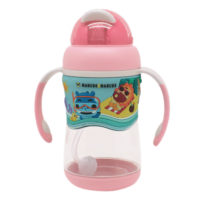 Marcus & Marcus 2-Stage tritan straw bottle – Pink