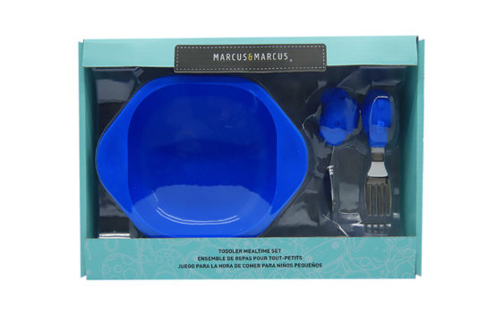 Marcus & Marcus Toddler Mealtime set Lucas the Hippo